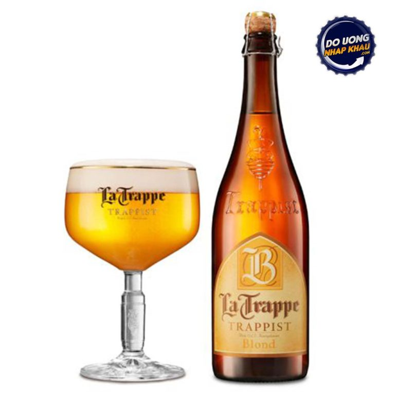 Bia La Trappe Blond