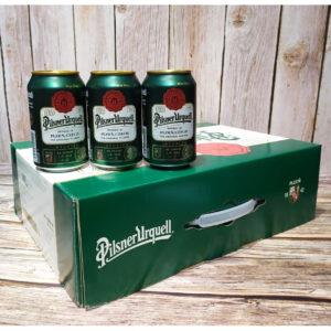 Bia Pilsner Urquel 4,4% Tiệp - 24 lon 330ml