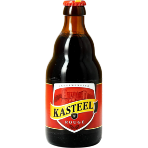 Bia Kasteel Rouge 8% Bỉ – chai 330ml