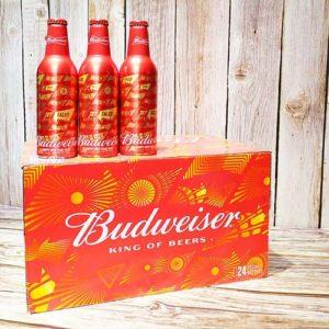 Bia Budweiser chai nhôm