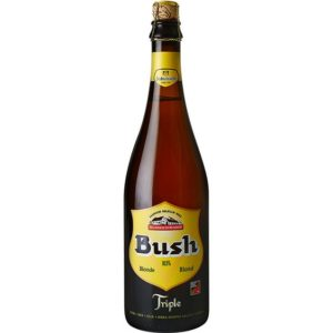 Bia Bush Amber Blond 10,5% Bỉ – chai 750 ml