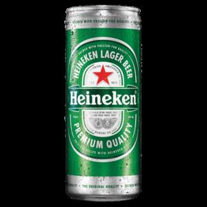 Bia Heineken Hà Lan lon 250ml