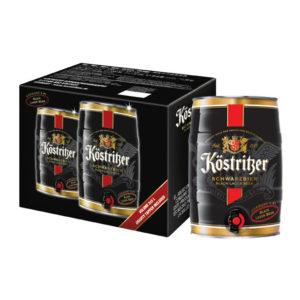 Bia Kostritzer Schwarzbier 4,8% Đức – bom 3 lít
