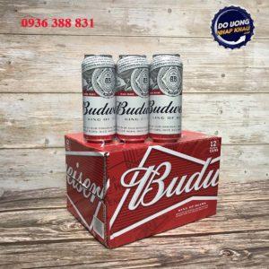 Bia Budweiser 5% Mỹ liên doanh - lon 500 ml