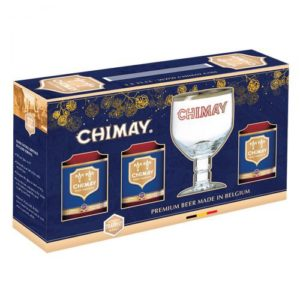 Hộp quà bia Chimay xanh