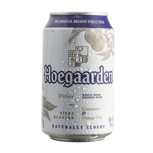 Bia Hoegaarden trắng 4,9% lon