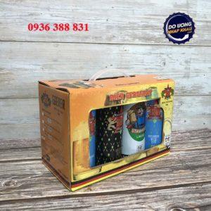 Hộp quà bia Egerer Đức – mix 8 lon 500 ml