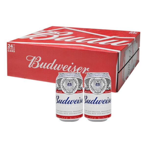 Bia Budweiser lon 330ml