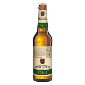 Bia Dinkelacker CD Pils 4,9% – chai 330 ml