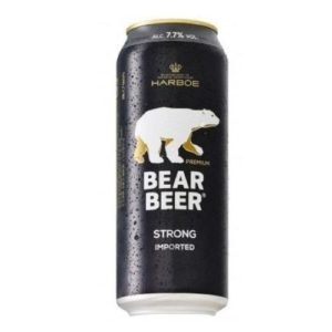 Bia Gấu Bear Beer Strong Lager 7,7%