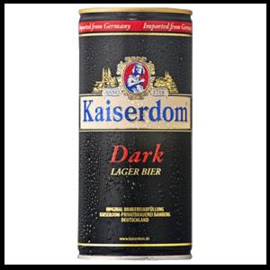 Bia Kaiserdom Dark Lager 4,7% Đức – 12 lon 1 lít