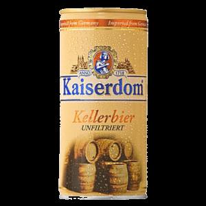 Bia Kaiserdom Kellerbier 4,7% Đức – 12 lon 1 lít