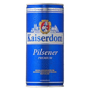 Bia Kaiserdom Pilsener 4,8% Đức – 12 lon 1 lít