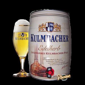 Bia Kulmbacher Edelherb 4.9% bom 5 lít