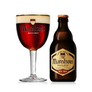 Bia Maredsous nâu 8% Bỉ – chai 330 ml