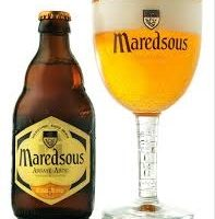 Bia Maredsous vàng 6% Bỉ – chai 330 ml