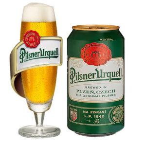 Bia Pilsner Urquell lon 330 ml