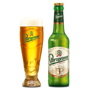 Bia Staropramen 5% Tiệp - 24 chai 330ml