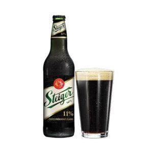 Bia Steiger đen 500ml