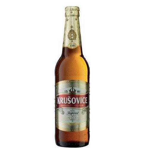 Bia Tiệp Krusovice Imperial 5% – 24 chai 330ml