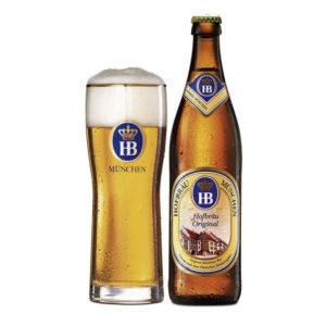 Bia Hofbrau Original 5,1% Đức - chai 500 ml