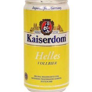 Bia Kaiserdom Helles Vollbier 4,9% Đức – 24 lon 250 ml