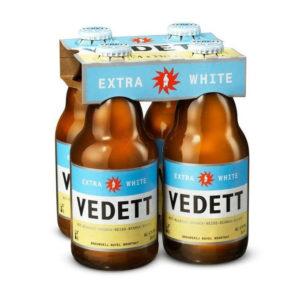 Bia Vedett Extra White 4,7% Bỉ chai 330ml
