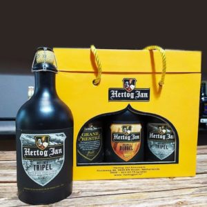 Hộp quà bia Sứ Hertog Jan