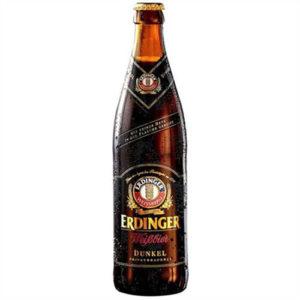 Bia Erdinger Weissbier Dunkel 5.3% Đức – 12 chai 500 ml