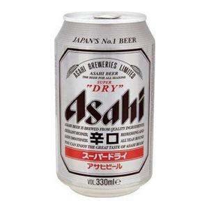 Bia Asahi 5% Nhật Bản - 24 lon 330ml