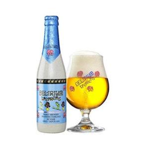 Bia Delirium Argentum 7% Bỉ- chai 330 ml