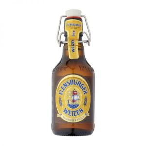 Bia Flensburger Weizen 5.1% Đức – 24 chai 330ml nút sứ