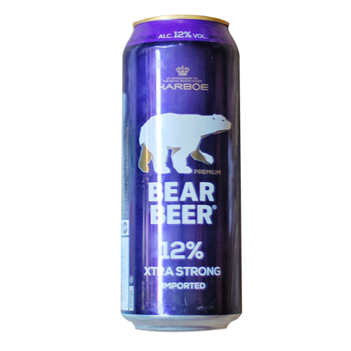 Bia gấu Bear Beer Extra Strong