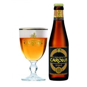 Bia Gouden Carolus Tripel 9% Bỉ - chai 330ml
