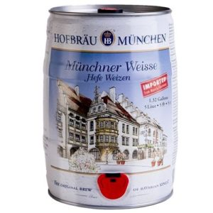 Bia Hofbräu Munchen Weisse Hefe Weizen 5,1%