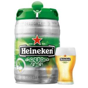 Bia Heineken Hà Lan 5% – bom 5 lít