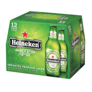 Bia Heineken 5% Pháp - 20 chai 250 ml