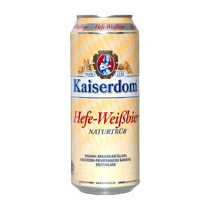 Bia Kaiserdom Hefeweisser lon 500 ml