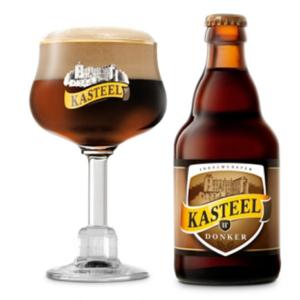 Bia Kasteel Donker 11% Bỉ – chai 330 ml