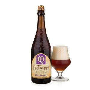 Bia La Trappe Quadrupel 10% Hà Lan - chai 750ml