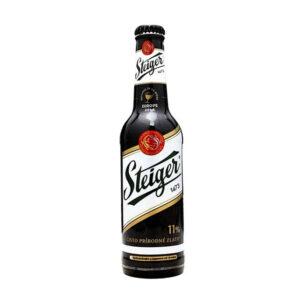 Bia Steiger đen chai 330 ml