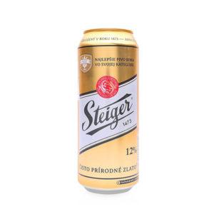 Bia Steiger vàng 5% Tiệp - 24 lon 500 ml