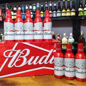 Bia Budweiser 5% Mỹ chai nhôm 355ml