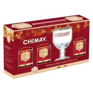Hộp quà bia Chimay đỏ