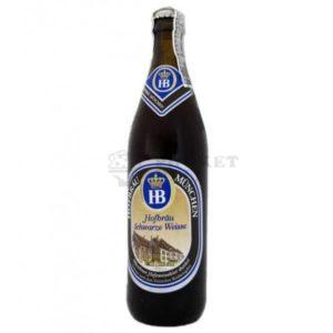 Bia Hofbrau Schwarze Weisse 5,1% Đức - chai 500 ml