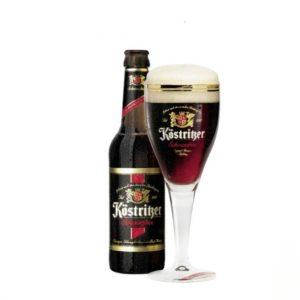 Bia Kostritzer Schwarzbier 4,8% Đức – 24 chai 330 ml