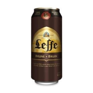 Bia Leffe nâu lon