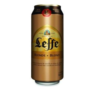 Bia Leffe vàng lon