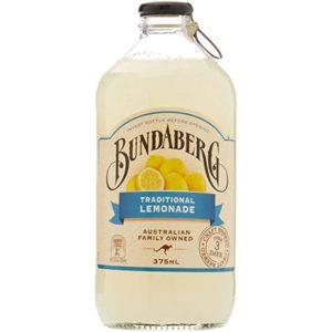 Nước trái cây Bundaberg Traditional Lemonade 8% Úc chai 375ml