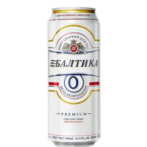 Bia Baltika 0% Premium Lager